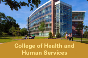 Photo of College of Health and Human Services building.