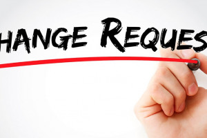 image of change request