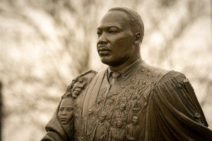 A statue of Martin Luther King Jr.