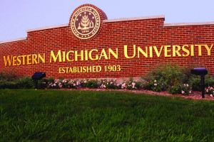 Photo of entrance to WMU campus.