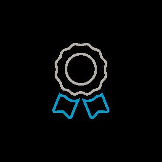 Icon: award ribbon