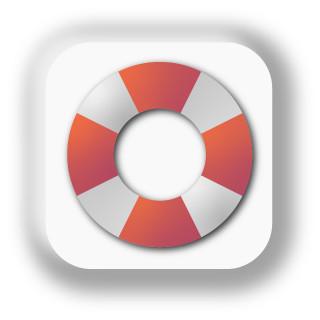 icon: life ring (help hub)