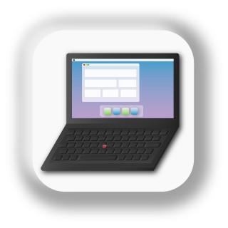 icon: laptop (technology training)