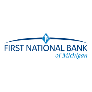 logo: First National Bank of Michigan