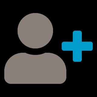 icon: add membership