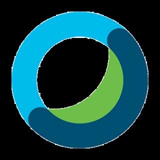 Webex logo.