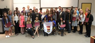 2016 Tau Sigma Induction Group Photo