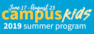 2019 Campus Kids Summer Program