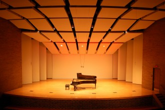 Photo of the Dalton Center Recital Hall.