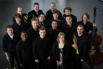 Photo of University Jazz Orchestra.