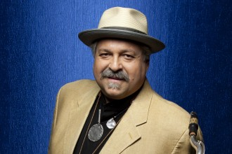 Photo of saxophonist Joe Lovano.