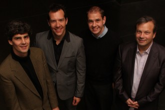 Photo of School of Music faculty ensemble .