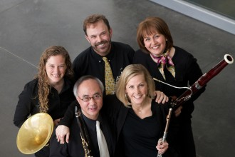 Photo of members of Western Winds.