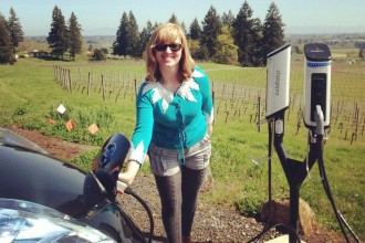 ALumni Ashley Horvat Electric Cars on West coast
