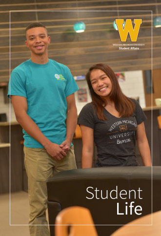 Cover of the Student Life Brochure