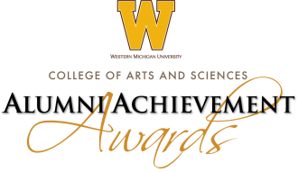 WMU College of Arts and Sciences Alumni Achievement Awards logo