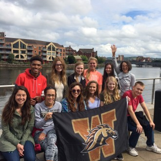 Incoming Freshmen study abroad in Ireland