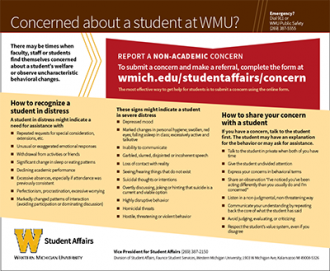 Student Concern Card image