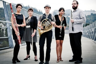 Photo of wind quintet The City of Tomorrow.