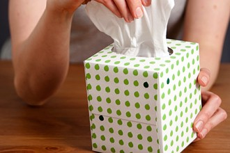 Photo of box of tissues.