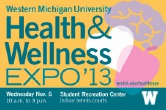 Health & Wellness Expo logo.