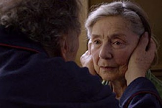 Photo of movie still from Amour.