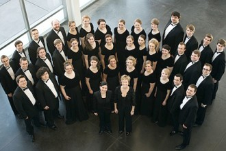 Photo of WMU Chorale members.