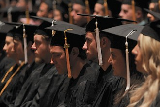 Photo of WMU graduates.