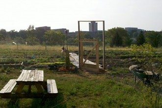 Photo of Stadium Drive Community Garden.