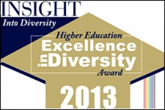 Higher Education Excellence in Diversity logo.