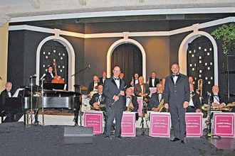 Photo of the One and Only Tommy Dorsey Orchestra.
