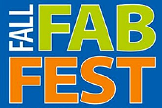Logo for the Fall Fab Fest.