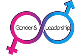 Photo of logo for Gender and Leadership Summit.