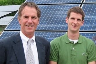 Photo of founders of Helios Solar.