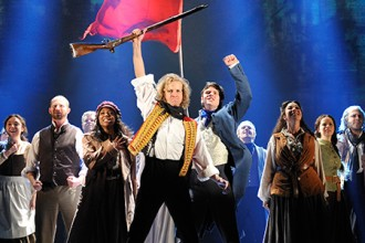 Photo of actors from Les Miserables.