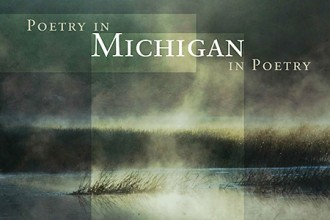 Cover of poetry anthology Poetry in Michigan/Michigan in Poetry.
