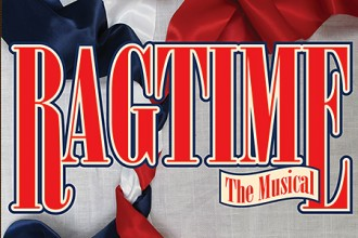 Photo of Ragtime musical logo.