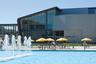 Photo of WMU's Richmond Center for Visual Arts.