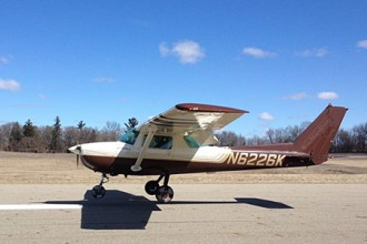 Photo of WMU airplane.