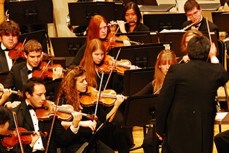 Photo of WMU University Symphony Orchestra.