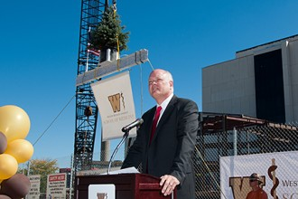 Photo of WMU Medical School Dean Hal Jenson.