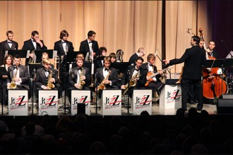 Photo of WMU's University Jazz Orchestra.