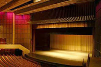 Photo of Miller Auditorium.