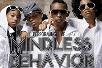 Photo of musical group Mindless Behavior.