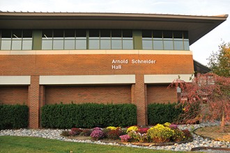 Photo of Schneider Hall.