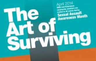 Sexual Assault Awareness Month logo.