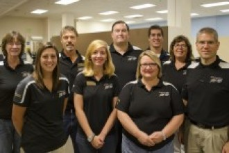 Photo of WMU Sports Medicine Clinic staff members.