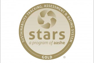 Sustainability, Tracking, Assessment and Rating System logo.