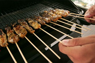 Photo of grilled meat.