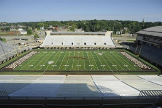 Photo of Waldo Stadium.
